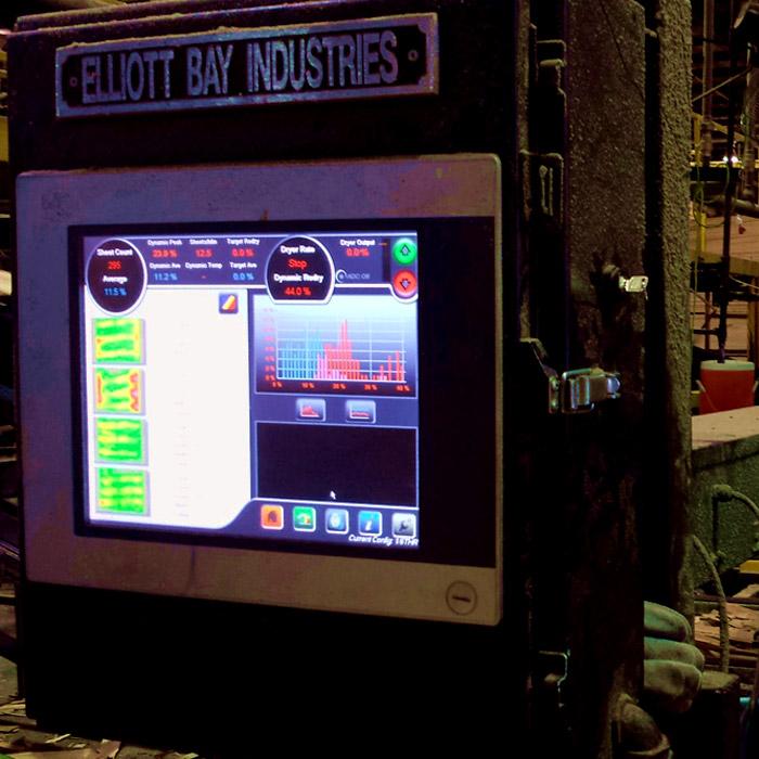 Elliot Bay Detectores de humedad para chapas de terciado