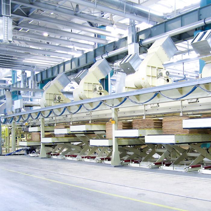 Grenzebach Líneas de Secadores y Clasificación de láminas