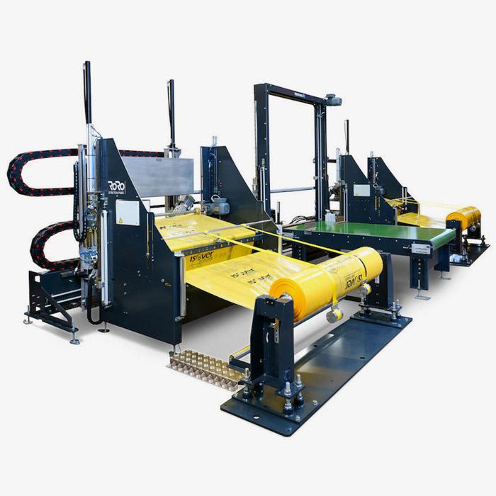 RoRo - máquina de embalaje extensible